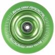 Núcleo metálico Radical fluorescente 110 mm verde rueda