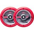 Ruedas Striker Bgseakk Magnetit 110mm Rojo