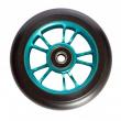 Blunt 10 Spokes rueda azul negra de 100 mm