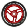 Bestial Wolf Race 110 mm rueda negro-rojo
