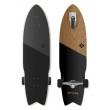 "Longboard Street Surfing SHARK ATTACK 35 ""Koa Black"