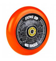 Llanta Eagle Standard Hollowtech 115mm Negro / Naranja
