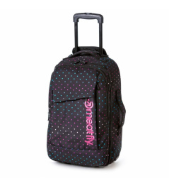 Cestovní taška Meatfly Revel Trolley 40L B rainbow print 2018