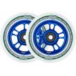 Ruedas North Wagon 110mm azul 2pcs