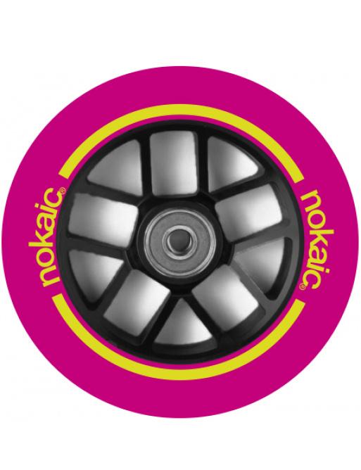 Rueda Nokaic Spoked 110mm Rosa