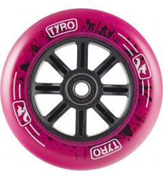Rueda Longway Tyro Nylon Core 100mm rosa