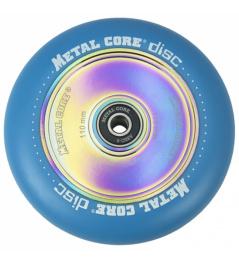 Disco de núcleo metálico Rueda azul de 110 mm