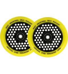 Ruedas Root Industries Honeycore Radiant 110mm 2k amarillo