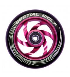 Rueda Bestial Wolf Twister 110mm rosa