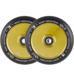 Ruedas Root Industries Air Black 110mm 2pcs Gold Rush
