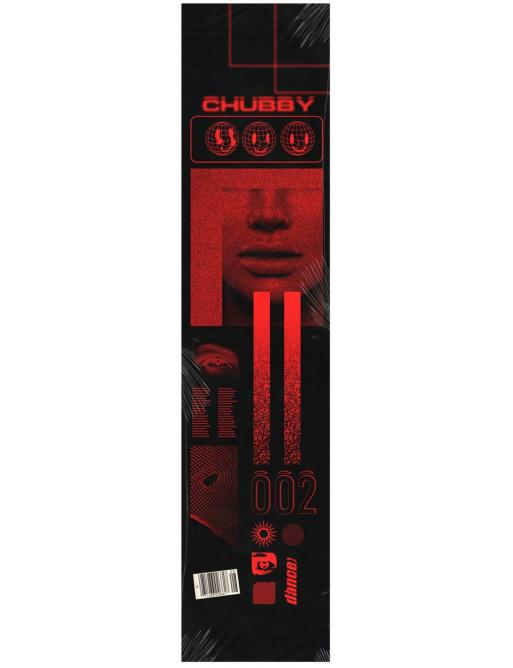 Griptape Chubby Gobby červený