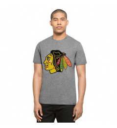 Triko 47 Brand Club Tee NHL Grey SR