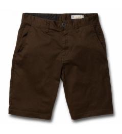 Pantalones cortos Volcom Frickin dark chocolate 2018 vell.36