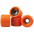 AOB ruedas 4 piezas naranja