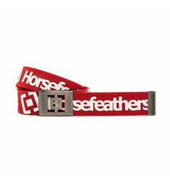 Cinturón Horsefeathers Idol rojo 2020/21