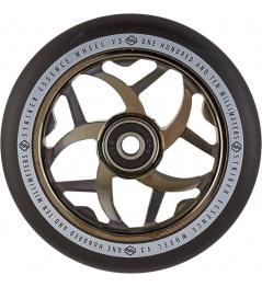 Rueda Striker Essence V3 Negro 110mm Metalizado Negro
