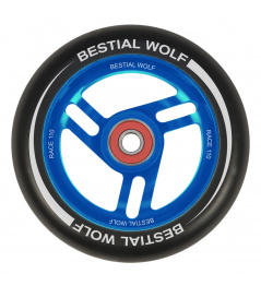 Bestial Wolf Race 110 mm rueda negro-azul