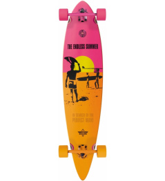 Longboard Dusters Endless Summer yellow/orange/pink vell.42