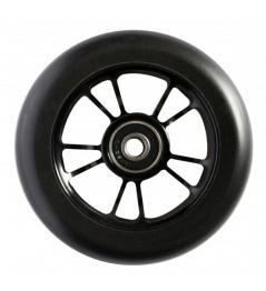 Blunt 10 Spokes rueda negra negra de 100 mm