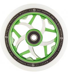 Rueda Striker Essence V3 Blanco 110mm verde