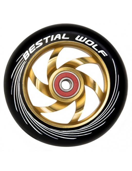 Rueda Bestial Wolf Twister 110mm amarillo