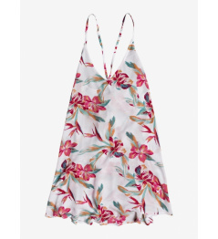 Roxy Be In Love Dress wbb7 llamada tropical blanca brillante con vell 2020 para mujer. L
