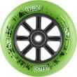 Kolečko Longway Tyro Nylon Core 110mm zelené