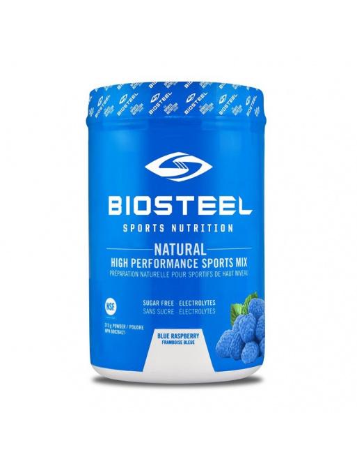 Iontový nápoj Biosteel Blue Raspberry High Performance Sports Drink (140g)