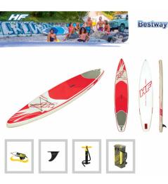 Paddleboard HYDROFORCE Fastblast Tech 12'6''x30''x6 '' Rojo / Blanco 2019