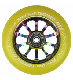 Metal Core Thunder Rainbow 110 mm redondo amarillo