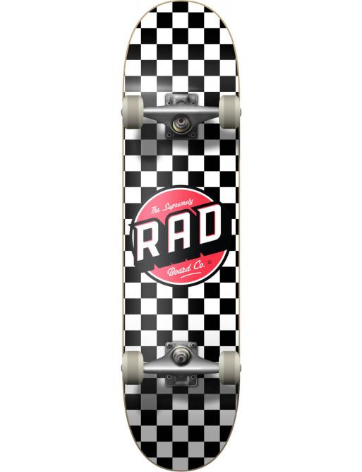 "RAD Checkers Skateboard Komplet (8""   Checkers Black)"