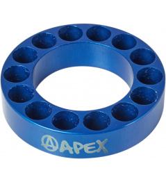 Espaciador de dirección Apex 10mm azul