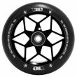 Rueda Blunt Diamond 110 mm negro