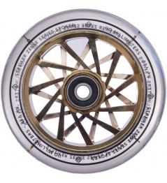 Rueda de scooter transparente Striker Zenue Series (110 mm   cromo dorado)