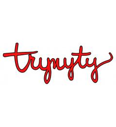 Pegatina Trynyty Roja