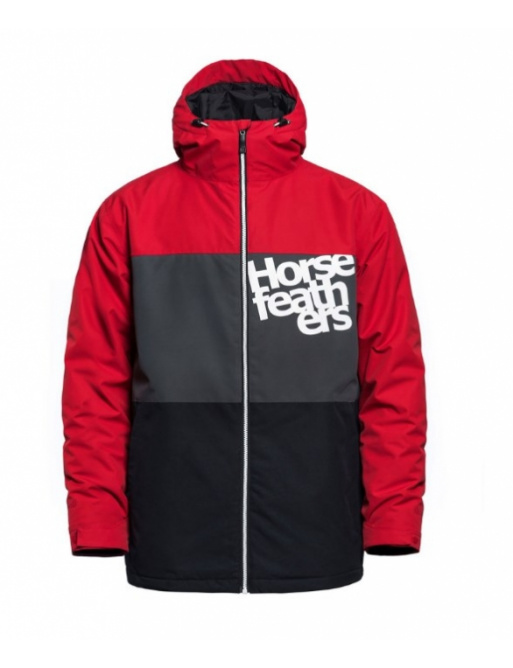 Bunda Horsefeathers Hale red 2020/21 vell.XXL