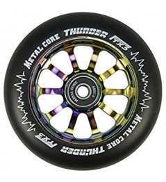 Metal Core Thunder Rainbow 110 mm rueda negro