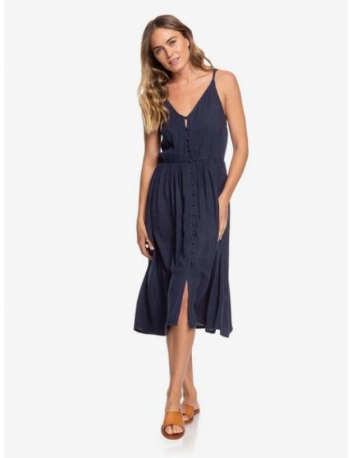 Šaty Roxy Sunset Beauty Solid 441 bsp0 mood indigo 2021 dámské vell.M