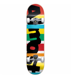 Skate komplet Almost - Stripe Out Youth FP Comp Multi (MULTI) 2019 vell.7,25