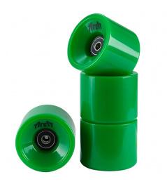Ruedas de área 4 piezas verdes