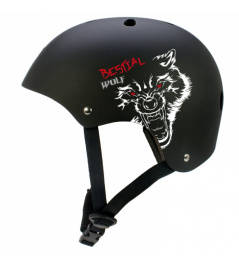 Casco Bestial Wolf Blackskull (M-XL)