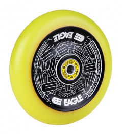 Kolečko Eagle Standard Hollowtech 115mm Black/Yellow