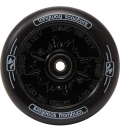Rueda Longway Monocromo City 110mm negro