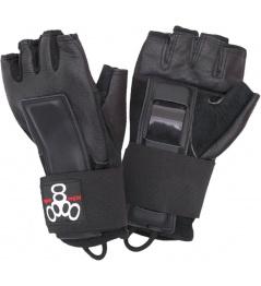 Protectores de mano y muñeca contratados Triple Eight (XL)