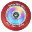 Disco núcleo metálico 110 mm rojo echador