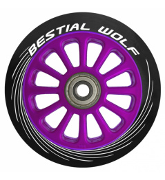Bestial Wolf Pilot circle purple