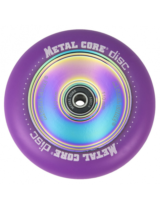 Metal Core Disco 110 mm círculo violeta
