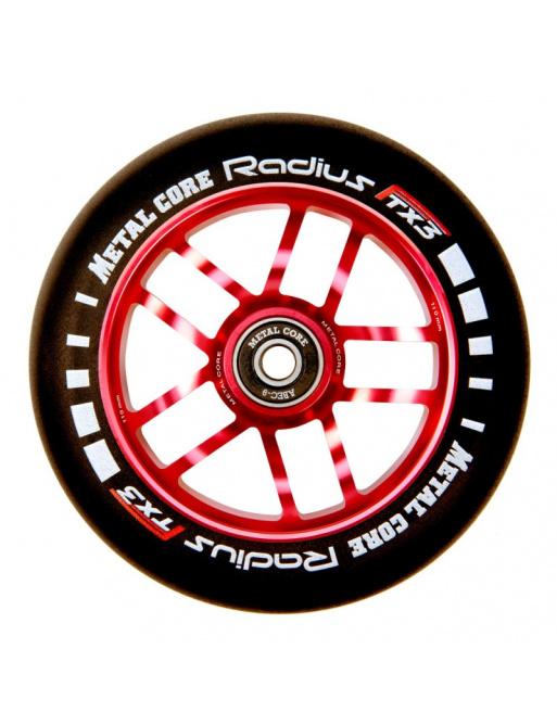 Rueda Metal Core Radius 110mm Wheel Red