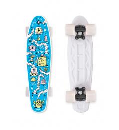Skateboard FIZZ FUN BOARD Alarm Blue