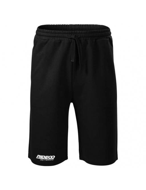 Rideoo Logo Shorts Black M